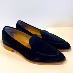 NEW Everlane The Modern Loafer in black suede